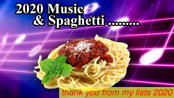 music and spaghetti